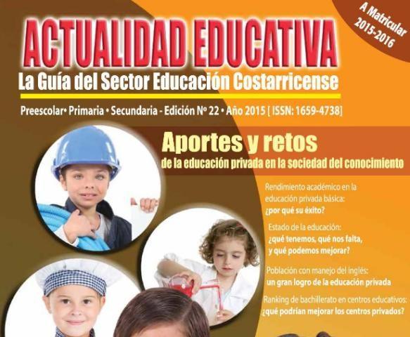 Revista Actualidad Educativa, Directorio de Kinders,Escuelas y Colegios en Costa Rica.